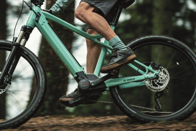 E-Bike con Bosch Performance Line