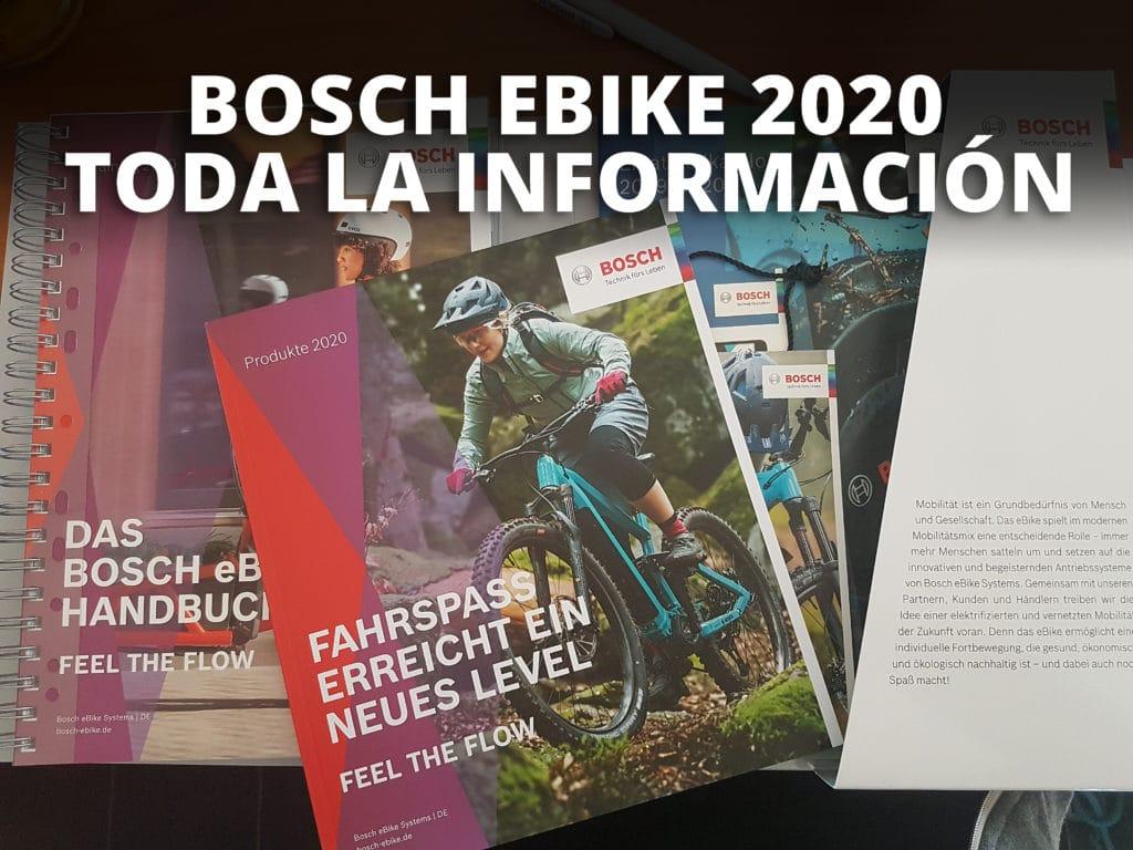 BOSCH ebike 2020-Portada