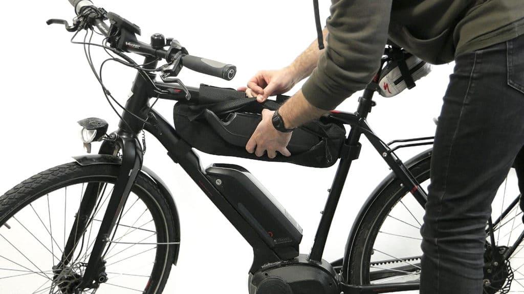 Bolsa para el cuadro de la bici Topeak MidLoader 3 o 4,5 litros