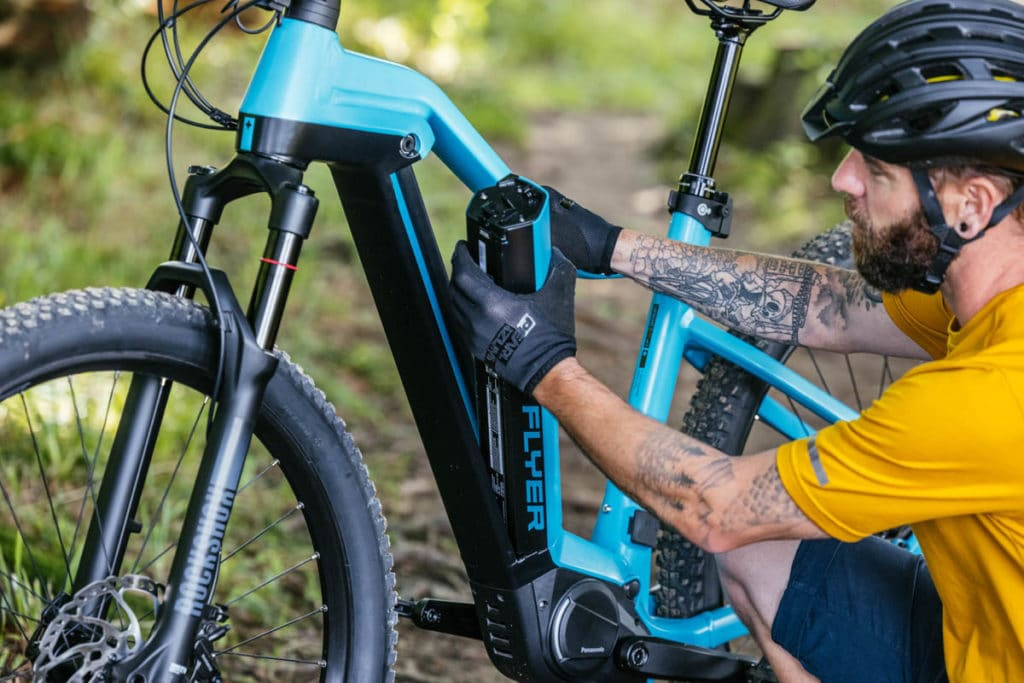 Antrieb Panasonic GX Ultimate Pro Fit an E-Bikes von Flyer