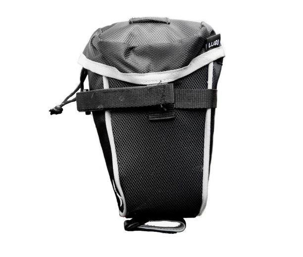 Bolsa de transporte Tern para bicicletas plegables - En uso