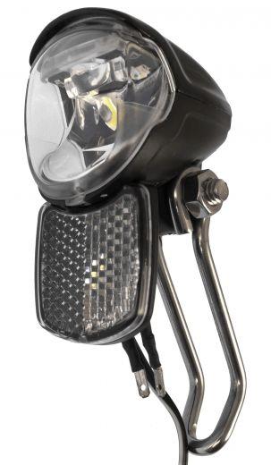 Faro B&M IQ2 EYC T 50 Lux 6 Volt con reflector delantero