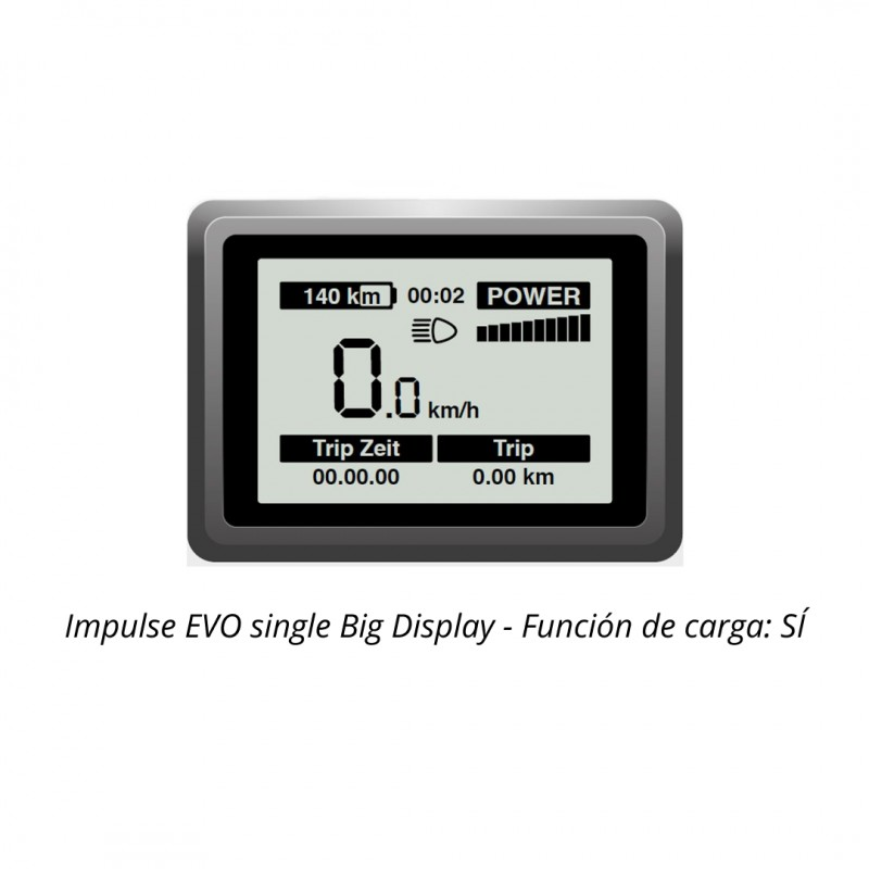 Impulse EVO single Big Display
