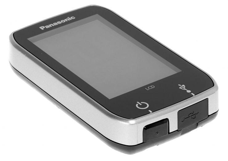 Pantalla central Flyer-Panasonic Display, soporte para manillar, mando a distancia, kit de abrazaderas
