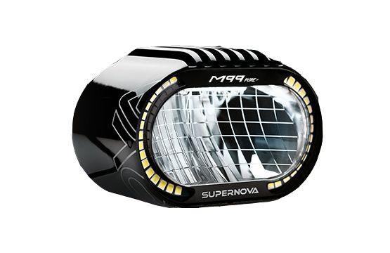 Supernova M99 PURE+ LED Faros delanteros eBikes 12V 25 km/h