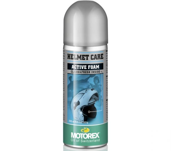 Motorex Helmet Care Spray - Espuma limpiadora