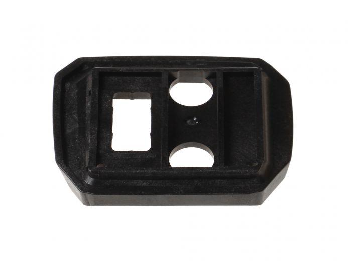 Placa de plástico Yamaha original para el soporte de batería - pieza superior