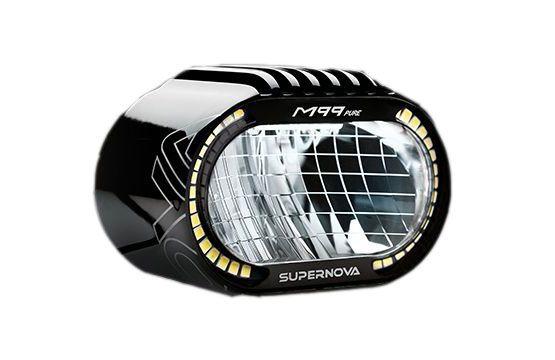 Supernova M99 Pure, faro LED eBikes 25 km/h