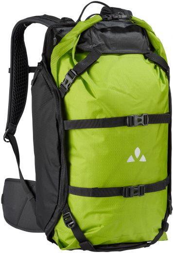 Vaude Trailpack - Negro/Verde