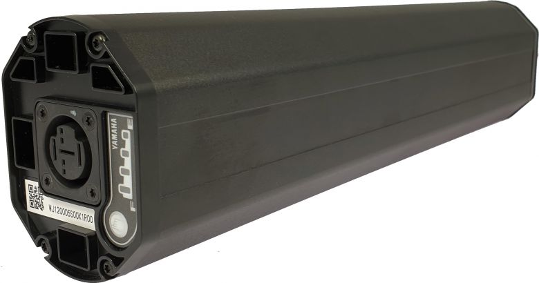 Batería original Yamaha Intube - montaje integrado en el cuadro de la eBike - Iones de Litio para Pedelecs & E-Bike 500Wh