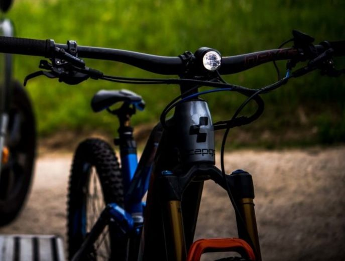 Faro de bicicleta eléctrica Litemove SE-150