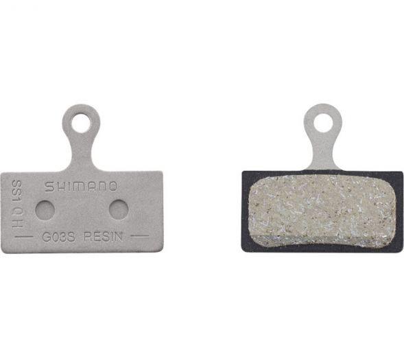 Pastilla de freno de disco SHIMANO G03S resina