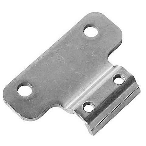 Placa adaptadora de soporte para caballete bici.Toma de la pata de cabra de 40 mm a 18 mm