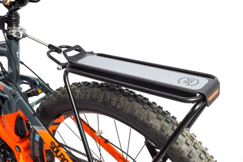 Portabultos EL BURRO para mountainbikes con doble suspensión
