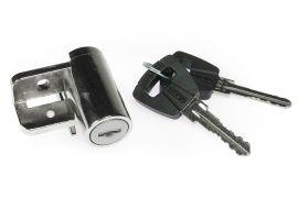 Cilindro llave ABUS para baterías Panasonic en el cuadro de la bicicleta eléctrica