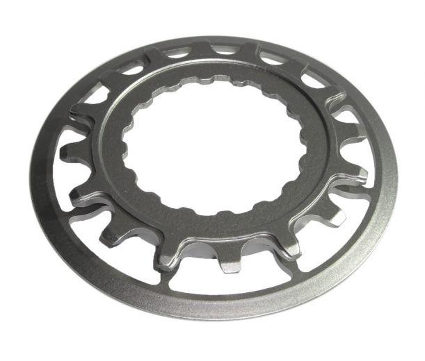 Plato de titanio-16 dientes Haibike para Haibike XDURO con motor Bosch Performance Gen2