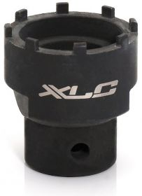 Herramienta de rodamiento interior XLC-TO-S04 ISIS-Drive de de 8 ranuras. Para desmontar eje del pedalier en motores Giant, Yamaha PW-X y Bosch Active y Active Plus 2018