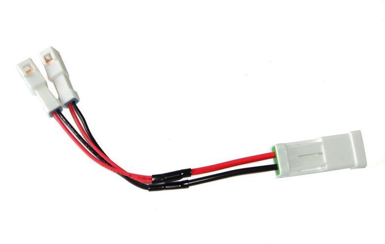 Cable Y para conexión iluminación en S-Pedelecs con motor Yamaha