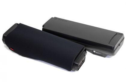 Funda de neopreno FAHRER para baterías Bosch Classic Line en el portabultos de la eBike