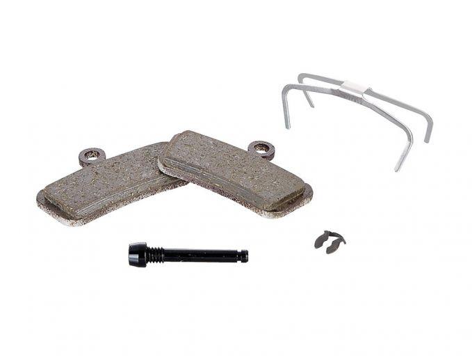 SRAM pastilla de freno de disco para Trail   Guide   G2 - orgánico (POTENTE)   placa de soporte de acero