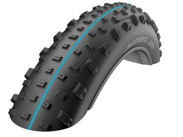 "Schwalbe Jumbo Jim 26"" Neumático plegable Fatbike - SnakeSkin - Addix Speedgrip"