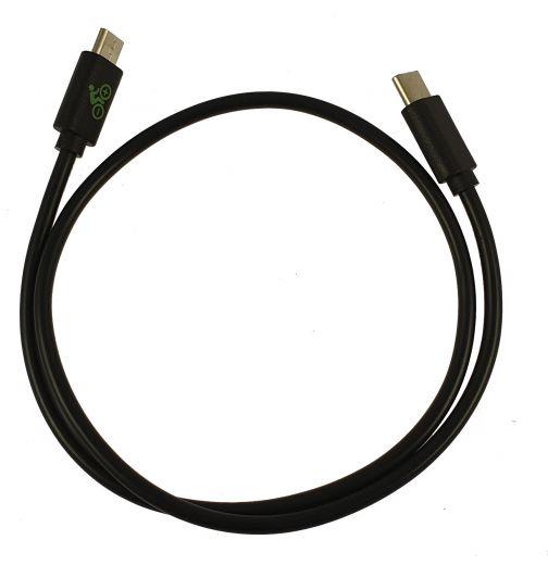 Cable de carga USB - para la conexión entre las pantallas de Yamaha, Bosch o Impulse y el smartphone con conector USB-C