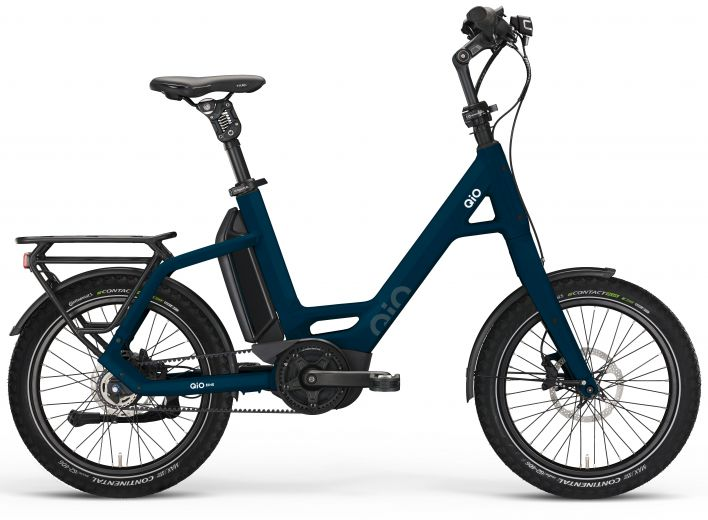 "Qio Eins AP-8 Unisex Ebike compacta 20"" - Azul Beryl"